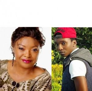 Aisha Falode and Son